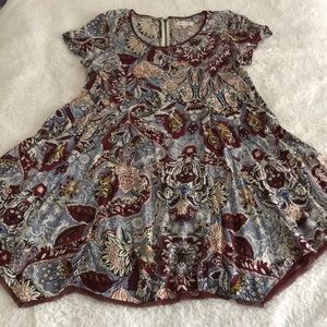 Mini dress Silence & Noise sz M ex GUC maroon